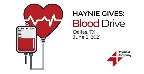 dallas blood drive flier