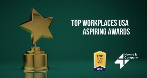 top workplaces usa aspiring awards
