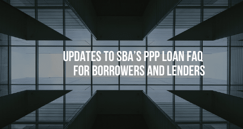 updates to SPA's PPP loan FAQ for borrowers and lenders